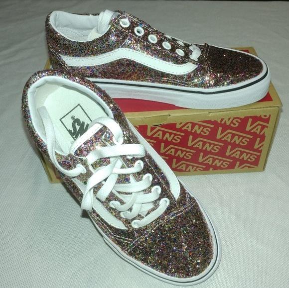 971f1b74b3 Old Skool Chunky Glitter Size 6 Vans